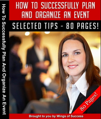 Product picture How To Successfully Plan And Organize An Event